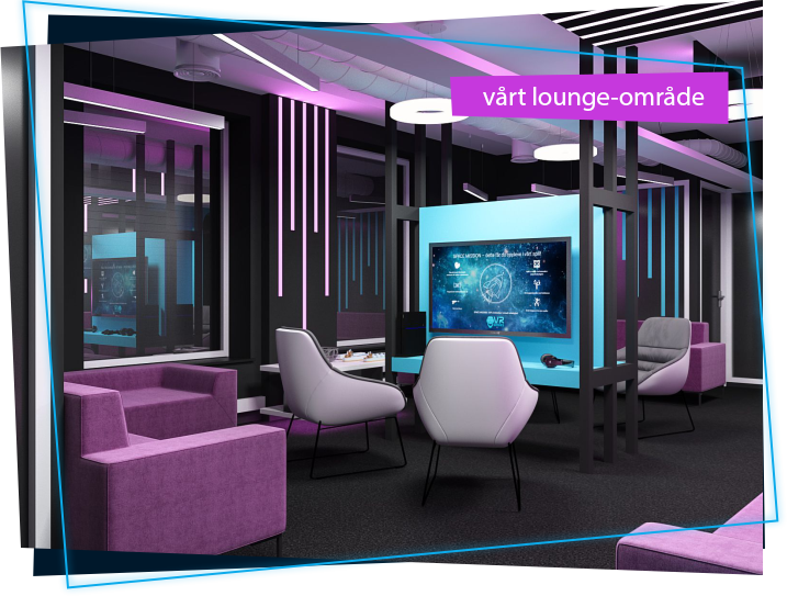 VR lounge hos VR Games Zone
